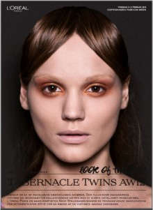 L'ORÉAL PARIS LOOK OF THE DAY // TABERNACLE TWINS AW 12