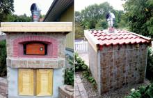 Vinnare i Drömofferten fick pizzaugn i trädgården