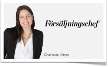 Charlotte Klärre – Inspiras nya försäljningschef!