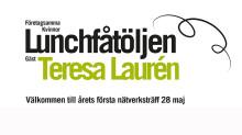 Lunchfåtöljen 28/5 årets första nätverksträff