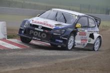 Ny segerchans för Volkswagen när rallycross-VM avgörs i England