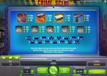 Crime Scene Slot – now launched!