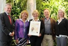 Hållbara Ålidhem prisades av Österrikes handelsråd