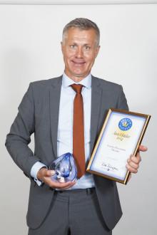 Anders Hagström, Livin' Hotell i Örebro, utsedd till Årets Hôtelier!