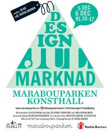 Designjulmarknad på Marabouparken konsthall