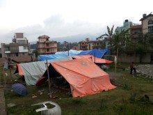 Stort engagemang för Nepal