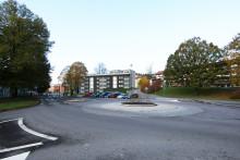 Först till kvarn för bostad i AB Bostäders nya kvarter Solrosen i Borås