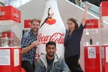 Norske studenter med vinnerdesign for Coca-Cola