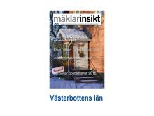 Mäklarinsikt Västerbottens län 2015:1