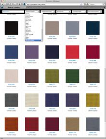98 new BIM objects on the BIMobject portal - fabrics and textiles from Uddebo Weaveri