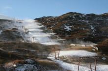 SkiStar Hemsedal: Hemsedal producerar snö inför vintern
