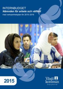 Internbudget 2015 nämnden arbete välfärd