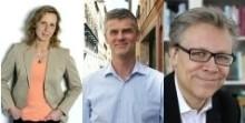 Debatt om friskolor mellan SVT:s Kristina Lagerström och TMI:s Mats Olin