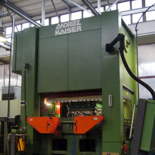 New front-edge stamping equipment in Germany expands capacity
