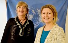 Porsgrunn-lærere på vei til FN i New York
