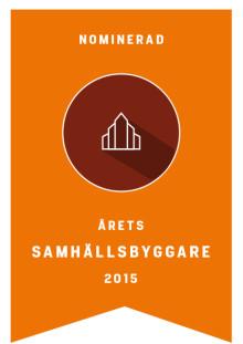 SABOs Kombohus nominerat till Årets samhällsbyggare