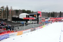 Skid-VM i Falun: Layher trivs bland vinnande team!