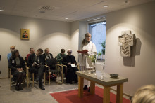 Sjukhuskyrkans kapell på Sahlgrenska återinvigt efter renovering