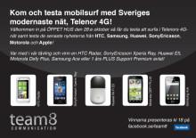 Vinn en mobil eller 1 års PLUS Support avtal!