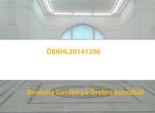 """Örebro konsthall visar """"ÖBKHL20141206"""" av Borduna Garden på lördag"""