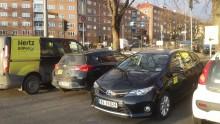 Nye bilpoolplasser på Carl Bernersplass