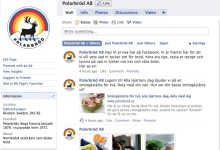 Polarbröd lanserar fanpage på Facebook