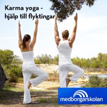 Karma Yoga i Malmö – Hjälp till flyktingar