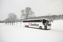 Swebus sätter in 140 extrabussar i jultrafiken