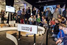 Episka robotbataljer i STHLM Robot Championship