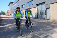 """Uppskattade """"cykelambulanser"""" på plats under Göteborgsvarvet"""
