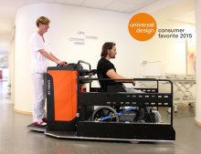 Toyota Material Handlings dragtruck utnämns till designfavorit av både expertjury och konsumentjury