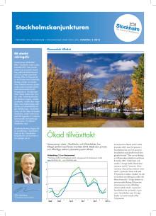 Stockholmskonjunkturen Q2 2013