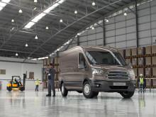 Ford viser ny Transit-generasjon i Hannover