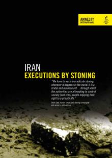 IRAN  De döms till stening för en handling som inte ens är ett brott i de flesta andra länder