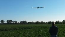Digital teknik med drönare och sensorer används i växtodling