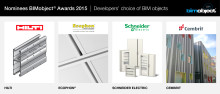 BIMobject® Awards: Nominees in the fifth category revealed