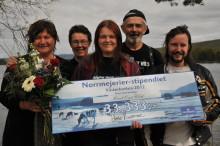 Rock Out Wild vann Norrmejerier-stipendiet i Västerbotten