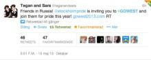 Stor succé för Stockholm Prides #gowest kampanj!