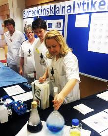 Bristyrke uppmärksammas på internationella biomedicinska analytikerdagen 15 april