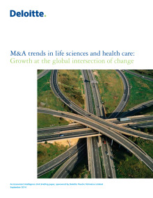 The M&A Trends in Life Sciences and Health Care