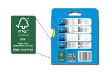 Saint-Gobain Abrasives inför FSC-certifierat papper i flexibla slipprodukter