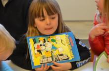 Lærer nettvett med Donald i barnehagen