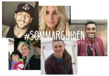 Fem kända profiler blir Göteborgs sommarguider