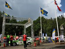 Fyra nya mästare när bilsporten klev in i SM-veckan i Borås