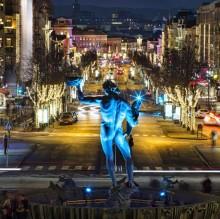 Julstaden fyllde hotellen i Göteborg