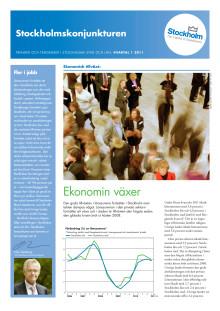 Stockholmskonjunkturen kvartal 1 2011