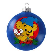 Bamse är motivet på årets julkula från UNICEF