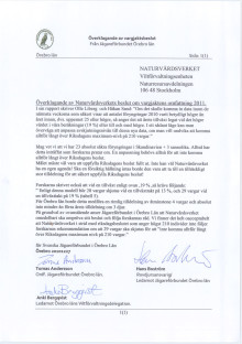 Överklagande av Naturvårdsverkets beslut om vargjaktens omfattning i Örebro län.