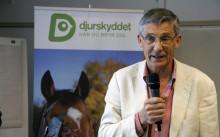 Bo Algers får Djurskyddet Sveriges djurskyddspris