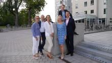Familjen Löfberg vinner pris som årets företagare i Karlstad